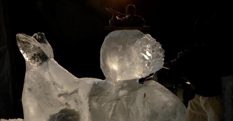 Alain Brion sculpteur - sculpture en cours d'élaboration